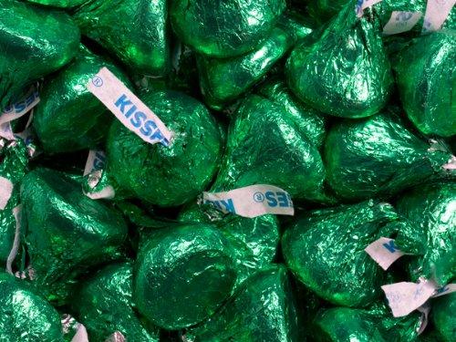 Hersheys-Green-Foil-Wrapped-Milk-Chocolate-Kisses-Green-Hersheys-Kisses-5-Pound-Bag