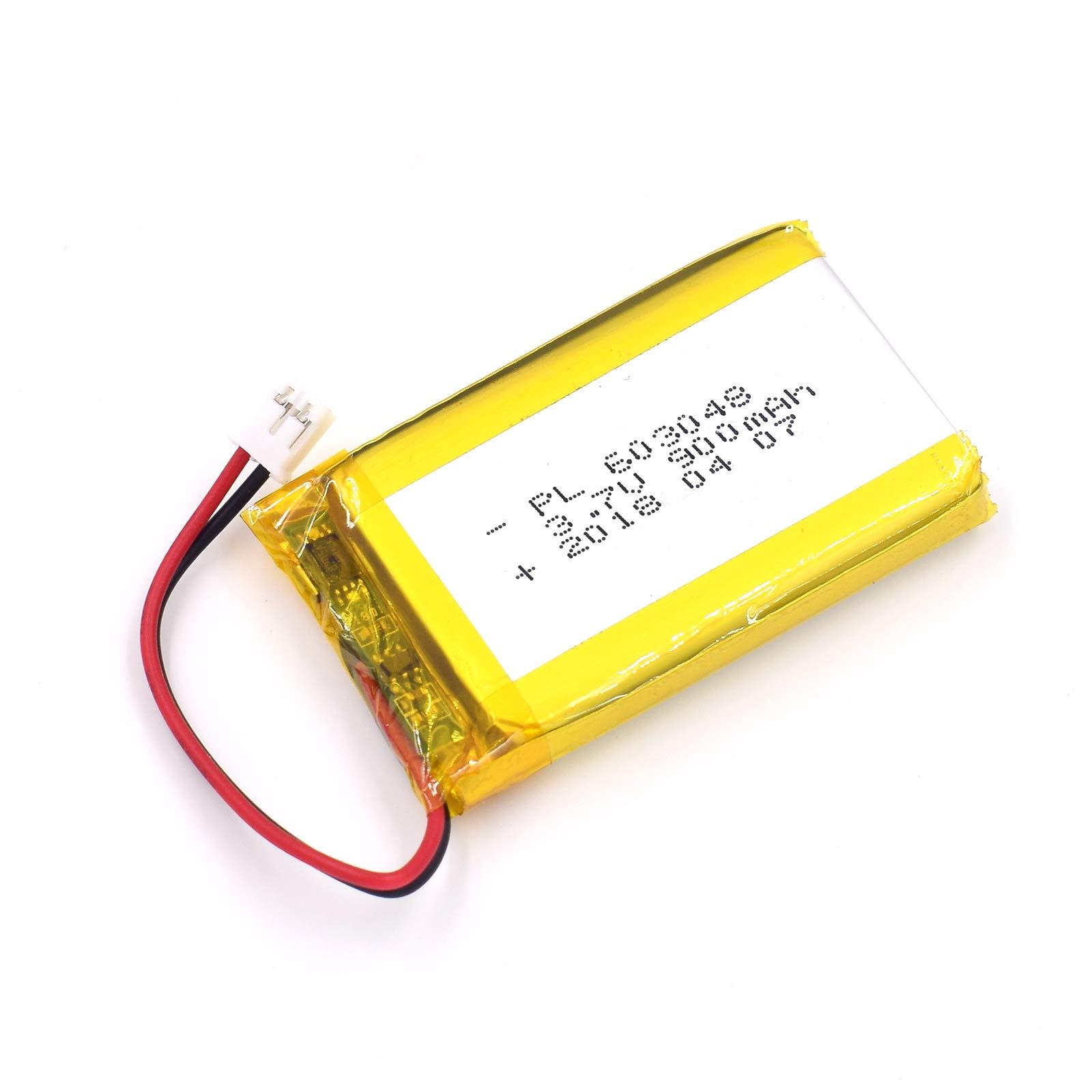 Bateria LIPO 3.7V 900mAh 603048