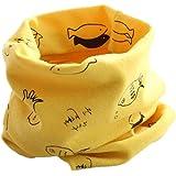 Bebé pañuelos de cuello, RETUROM el cuello del algodón del bebé unisex de la bufanda del ringneck pájaro del invierno del otoño de impresión