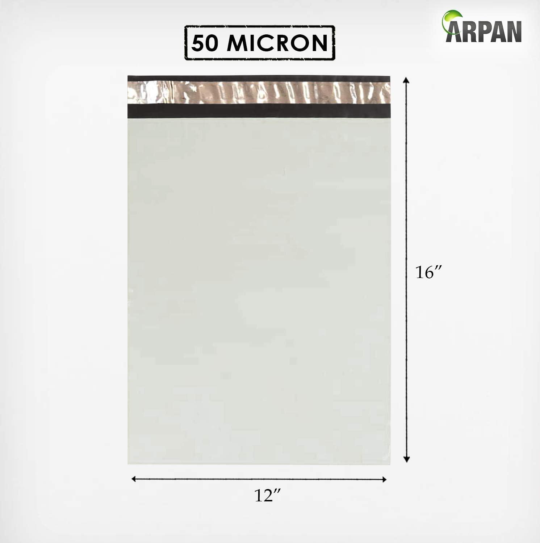 200 pezzi autoadesive colore: bianco 30,5 x 40,6 cm in plastica Buste per spedizioni postali
