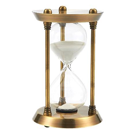 De arena reloj de arena temporizador – 30 minutos arena blanca temporizador reloj de arena reloj