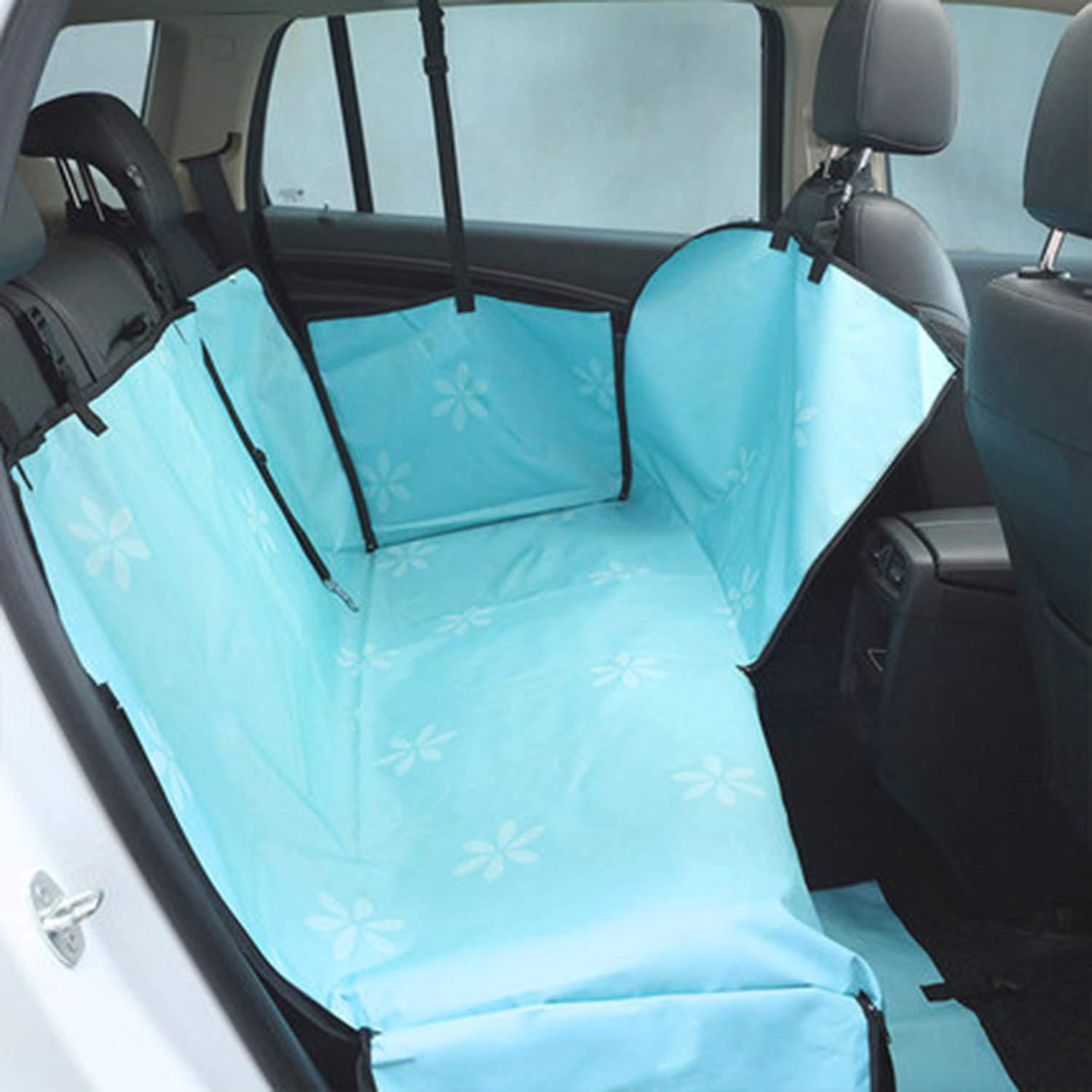 C XCXDX Dog Car Seat Cover, Waterproof Nonslip Mat, Travel Supply, Pet Hammock, 130×140cm