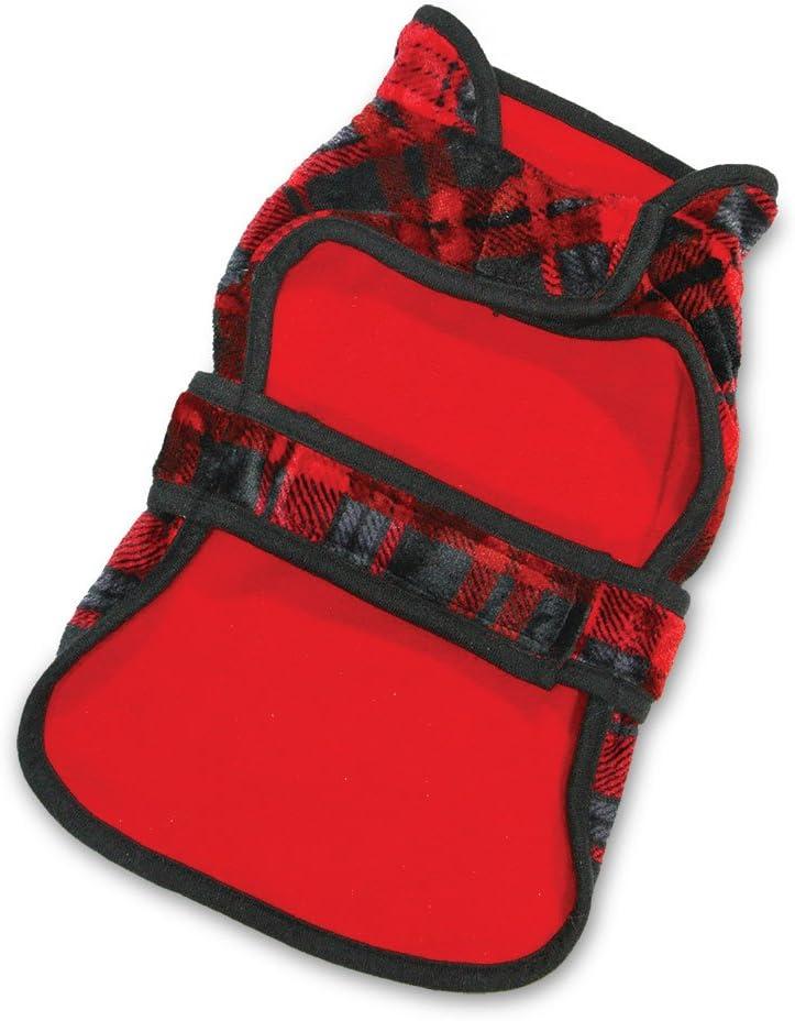 Reversible Windproof Fleece Jacket for Pets Voyager by Best Pet Supplies