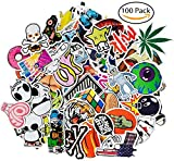 Gogogu 100 Pcs Car Stickers Motorcycle Bicycle Luggage Laptop Decal Graffiti Patches Skateboard Bumper Stickers Decal