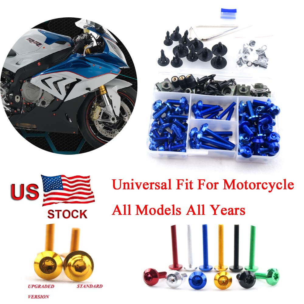 Motorcycle Kits Complete Bolt Fairings Bolt Kits screw Clips For Yamaha Honda Suzuki Bmw Kawasaki Ktm Ducati MT07 MT09 Z1000 CBR1000RR CBR600RR