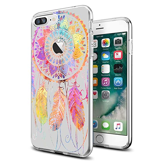 Amazon.com  Case for iPhone 7 Plus iPhone 8 Plus Ultra Thin Clear ... 33f428c68