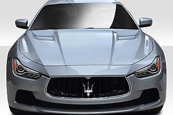 1 Piece Duraflex Replacement for 2014-2018 Maserati Ghibli W-1 Trunk Wing Spoiler