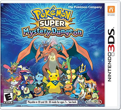 Pokémon Super Mystery Dungeon - 3DS [Digital Code] (Pokemon Mystery Dungeon Explorers Of Darkness Best Team)