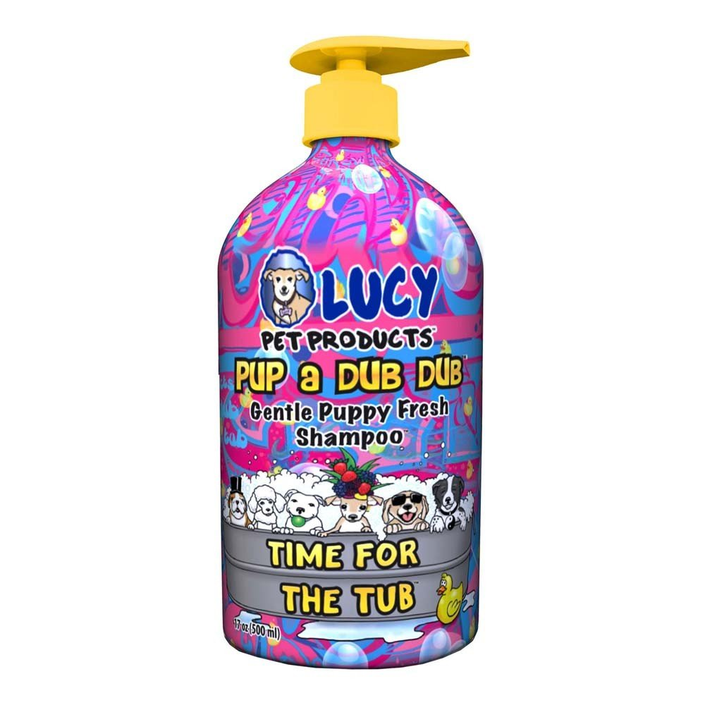 Lucy Pet Pup a Dub Dub Time for The Tub Puppy Gentle All Natural Shampoo 17oz LUCY PET PRODUCTS