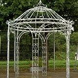 pavillon sedia pergola laube gartenpavillon eisen rund h 265 cm. Black Bedroom Furniture Sets. Home Design Ideas