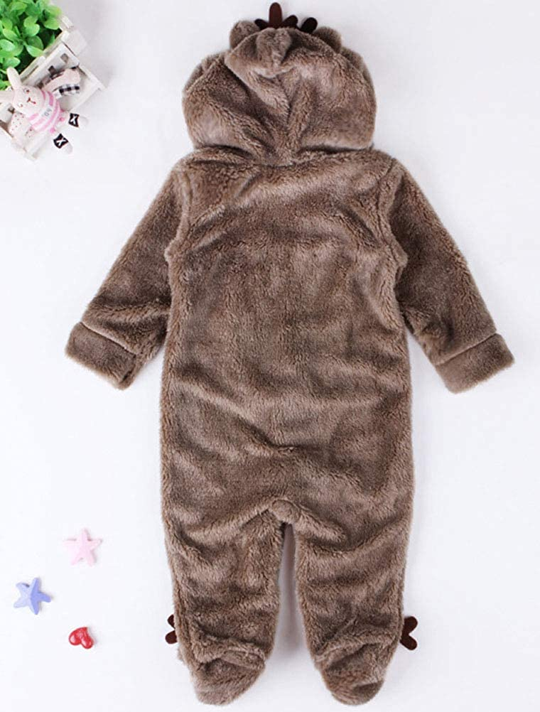 ARAUS Baby Bademantel mit Kapuzen Badetuch Tier-Design Fleece Pyjamas S/äuglinge Morgenmantel 1-7 Jahre alt