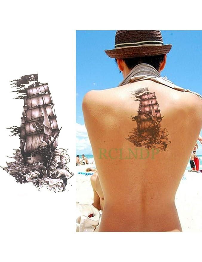 ASTTY Etiqueta Engomada del Tatuaje Impermeable Tatuaje Temporal ...