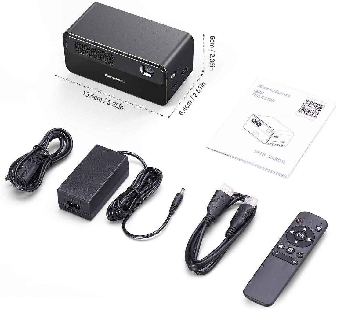 Proyector De Cine En Casa Proyector Hdp 300 ANSI Dlp Soporte 1080P ...