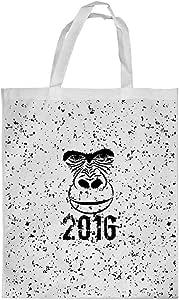 Year 2016 Printed Shopping bag, Medium Size