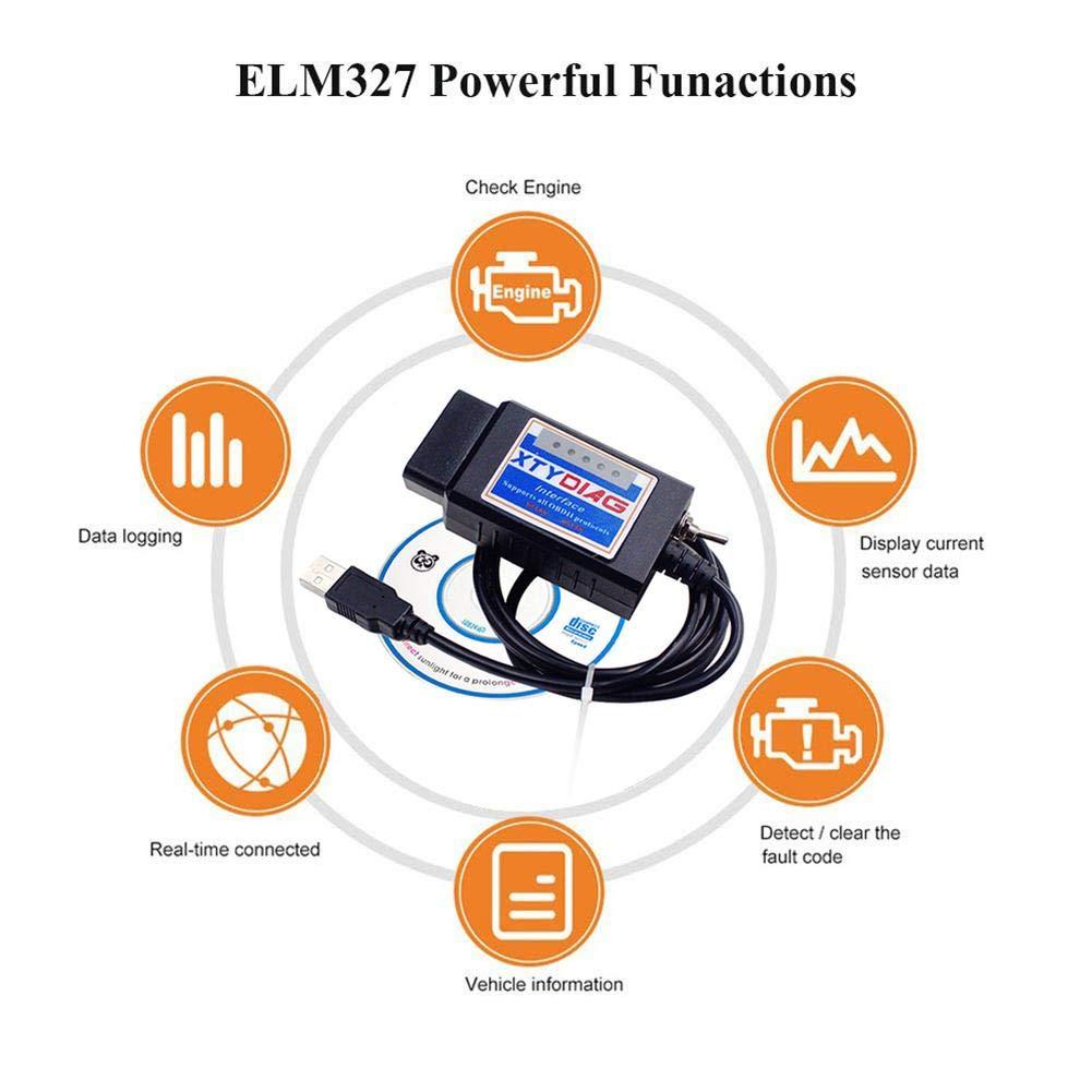 Mona43Henry Escáner Forscan para Instrumentos de diagnóstico para ...