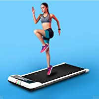 COOLBABY Fitness walking treadmill,folding treadmill with LED display, compact folding type, noiseless and comfortable…