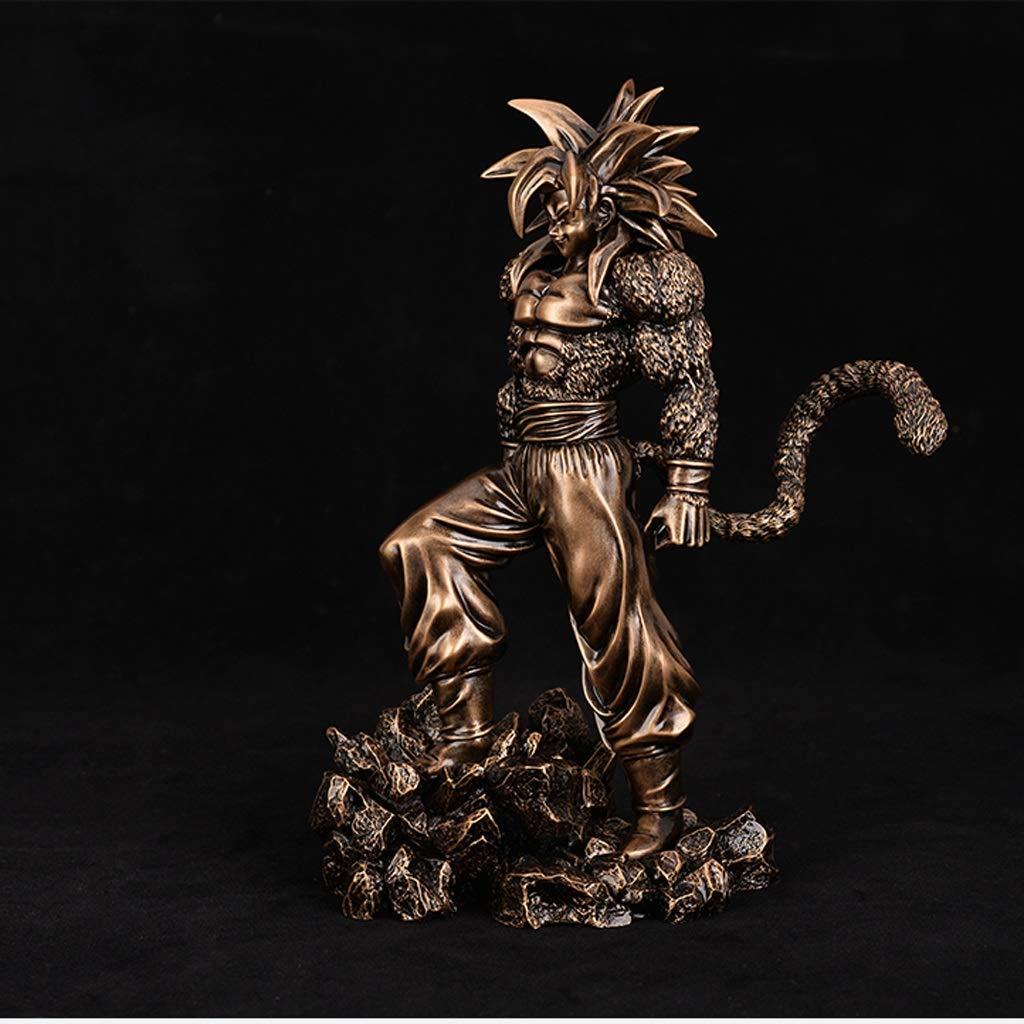 玩具像ドラゴンボール玩具モデル絶妙なアニメデコレーションデコレーション/孫悟空24cm JSFQ B07T61ZZ5F