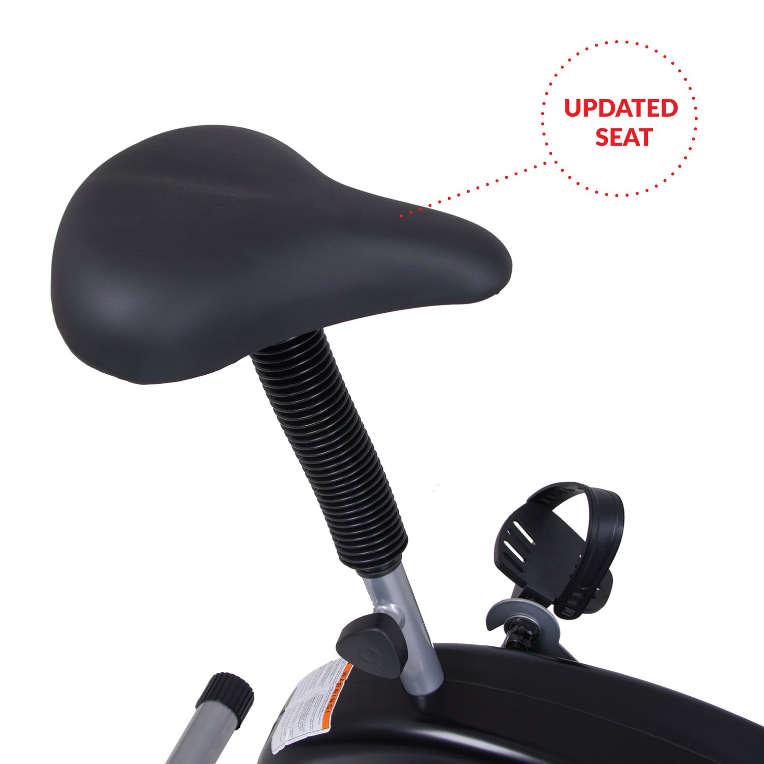Body Rider Exercise Upright Fan Bike (with UPDATED Softer Seat) Stationary Fitness/Adjustable Seat BRF700 by Body Rider (Image #5)