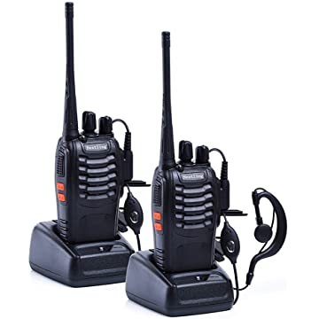 top selling Nestling 888S Walkie Talkie 2pcs in One Box with Rechargeable Battery Headphone Wall Charger Long Range 16 Channels Two Way Radio