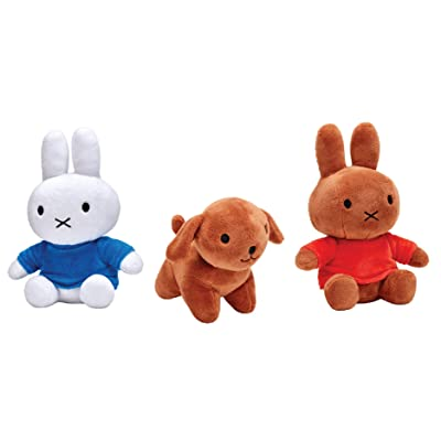 Miffy Adventures Big and Small Complete Set Melanie Snuffy Plush Characters: Toys & Games