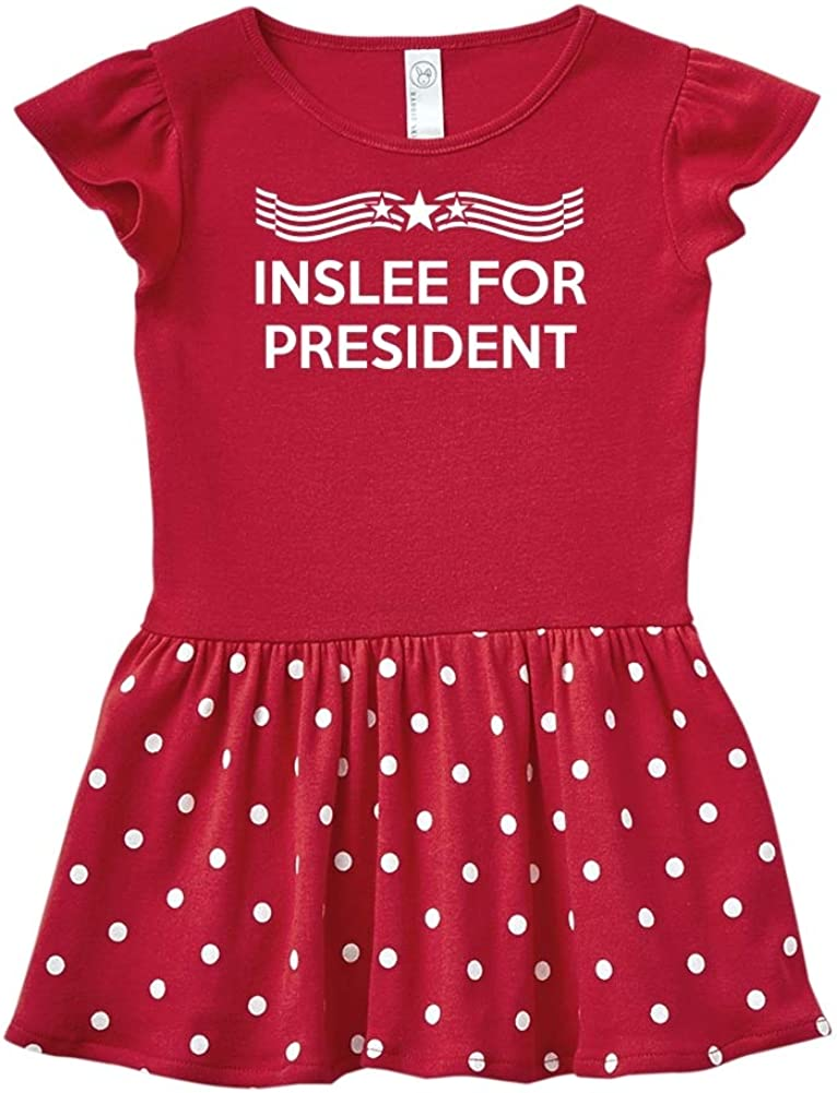 Mashed Clothing Inslee 2020 Presidential Election 2020 Toddler//Kids Long Sleeve T-Shirt Star