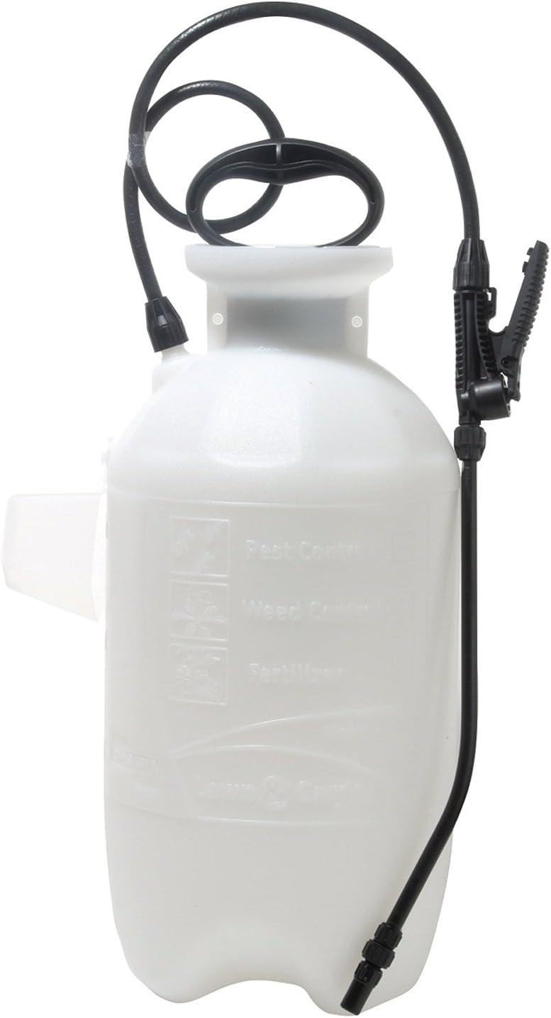 Chapin International 023883200206 Chapin 20020 2-Gallon SureSpray Sprayer for Fertilizer, Herbicides, Translucent White Tank