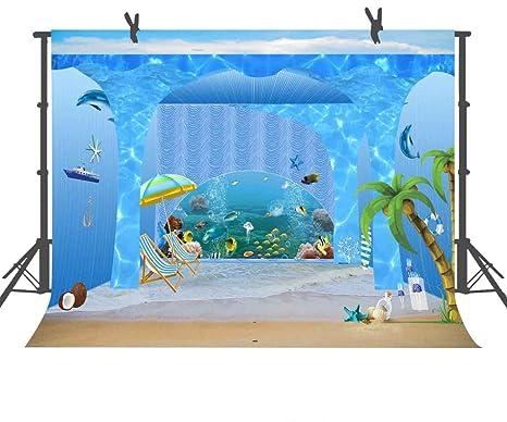fuermor 10 x 152 azul acuario fondo para estudio de fotografía Studio Photo Props sala Mural