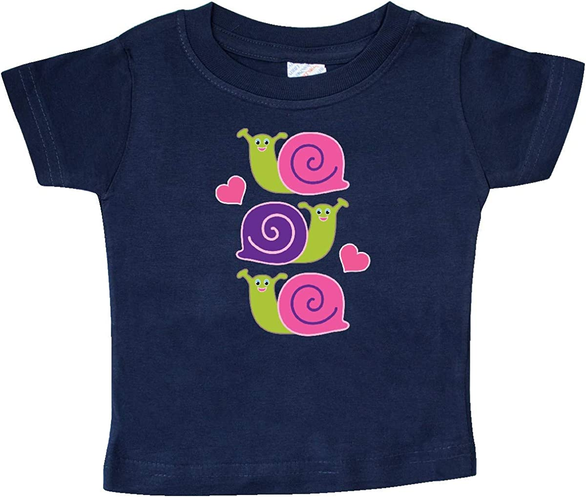 inktastic Snail Lover Girl Garden Snails Baby T-Shirt