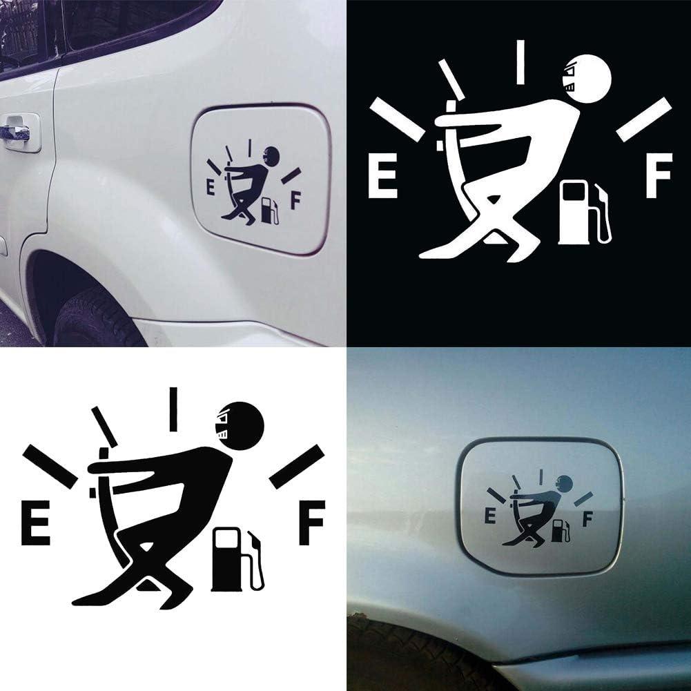 Lustige Tankanzeige Reflektierende Auto Fahrzeugkarosserie /Öltankdeckel Aufkleber Aufkleber Dekor Porfeet Auto Aufkleber