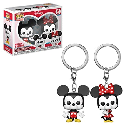 Pocket POP pack 2 keychain Disney Mickey & Minnie