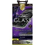 Simplism iPhone 7 Plus [FLEX 3D] 立体成型フレーム ガラス フィルム ブラック TR-GLIP165-GOF3CCBK