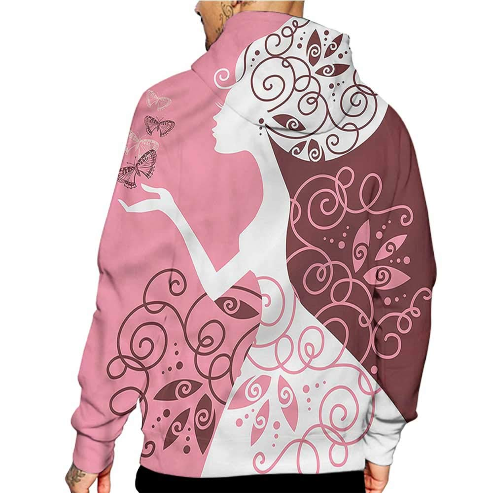 Unisex 3D Novelty Hoodies Peacock,Classic Bird Tail Feathers,Sweatshirts for Girls