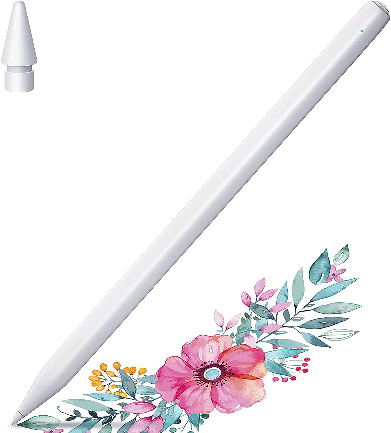 Stylus Pen for iPad, StylusHome Active Stylus for Apple iPad (2018 and Later), Palm Rejection Magnetic Adsorption for iPad Pro 11/12.9 Inch iPad 6/7/8th Gen iPad Air 3rd/4th Gen iPad Mini 5th Gen