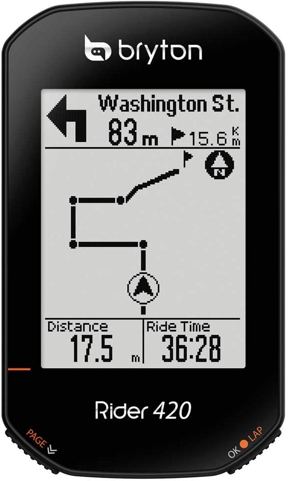Bryton Rider 420E Wireless GPS GNSS//ANT BLE Bike Bicycle Cycling Computer