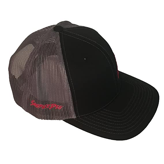 9eb71d66ac4 Sniper Pig Black and Red Snapback Hat at Amazon Men s Clothing store