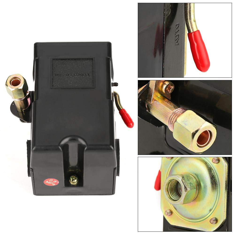 1 Stk Druckschalter Kompressor Universal-Druckschalter 95-125 Psi f/ür Luftkompressor-Pumpensteuerventil