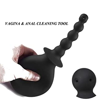 Clean silicone sex toy