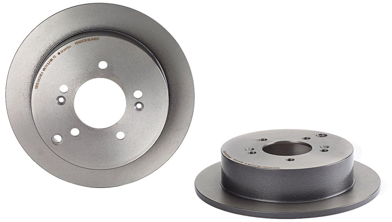 Brembo 08.A446.11 Disque de Frein Arri/ère avec rev/êtement anti-corrosion UV Jeu de 2 disques