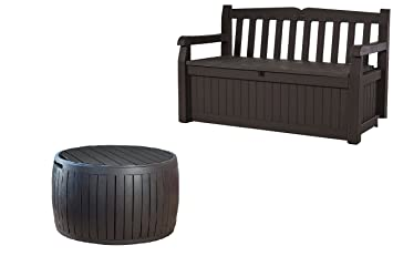 Wondrous Keter Eden 70 Gallon All Weather Outdoor Patio Storage Andrewgaddart Wooden Chair Designs For Living Room Andrewgaddartcom