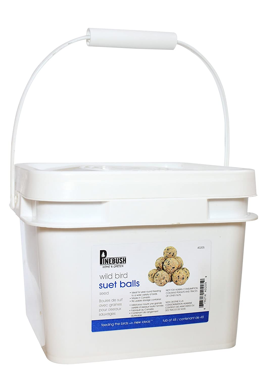 Seed Suet Balls Tub of 48