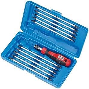 Alyco 193455 - Juego de 11 piezas destornilladores 20 en 1 en estuche plastico: Amazon.es: Bricolaje y herramientas
