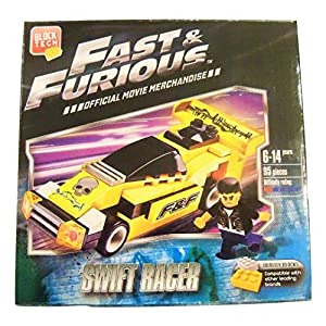 Fast and Furious Build Your Own Vehicle ~ Swift Racer (95 Pieces; Official Movie Merchandise)