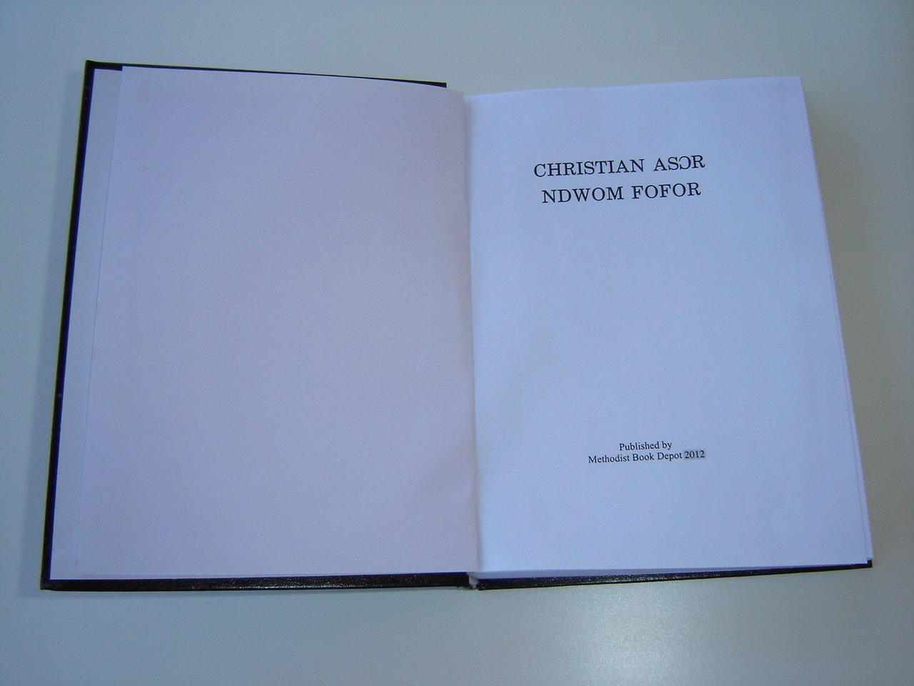 CHRISTIAN ASOR NDWOM FOFOR / Christian Hymnal with more than 1000