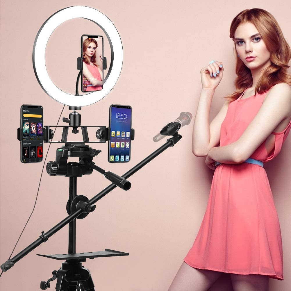 Free Amazon Promo Code 2020 for Selfie Ring Light with Tripod Stand