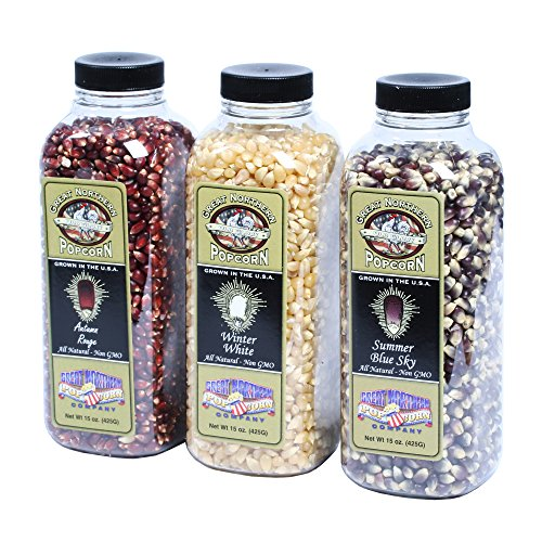Great Northern Popcorn Premium Old Glory Red White And Blue Variety Pack