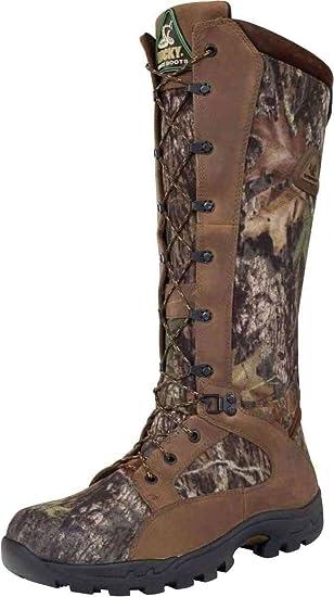 Men's Rocky Prolight Waterproof Snake Boots Mossy Oak Break Up C6o4724