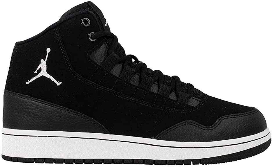 federación Consumir tristeza  Nike Jordan Executive BG, Boy's Basketball Shoes, Black (Black /  White-White), 3.5 UK (36 EU): Amazon.co.uk: Shoes & Bags