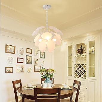 Attraktiv Nordisch Pendelleuchte Kreativ Modern Stilvoll Pineal Artischocke Entwurf  Hängelampe,Weiß Gefrorenes Glas Lampenschirme Für Schlafzimmer