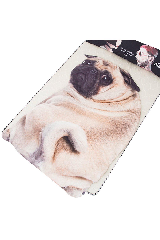 Getime 3D Animal Prints Blanket Bedding Sad Dog Shaped Washable Summer Quilt