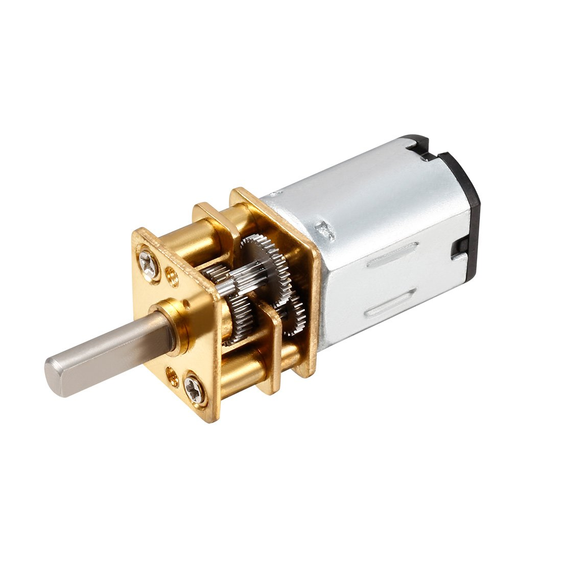 100RPM DC 6V 2 Terminal Gear Electric Speed Reduce Micro Motor Sourcingmap a13110700ux0220
